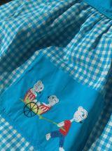 Tablier blouse d'écolier vintage