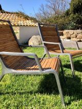 2 fauteuils de jardin Habitat