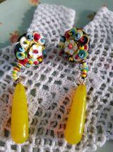 Boucles d'oreilles vintage