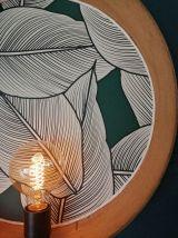 """Applique vintage, lampe murale Tamis """"Végétal"""""""