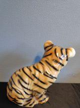 tigre ancien en céramique