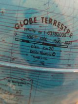 Globe terrestre Tecnodidattica petit modèle