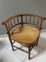 Fauteuil d'angle style Henri II