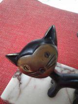 Chat bronze Walter bosse.