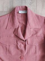 90s veste saharienne vieux rose S