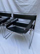 Paire de fauteuil Wassily - Marcel Lajos Breuer  -  1968