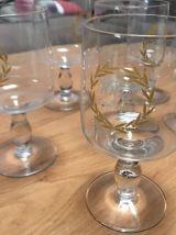 """Lot 6 verres à bière """" 1664 de Kronenbourg """" 25 cl , décor l"""