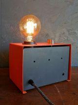 """Lampe vintage, lampe industrielle """"A fond la Caisse !"""""""