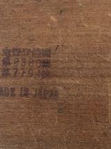 Porte-cigarettes vintage 1960 distributeur bois japon - 12 x