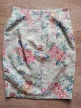 90s tailleur tapisserie pastel S/M
