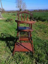 Chaise haute ancienne