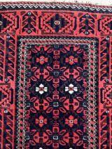 Tapis ancien Afghan Baluch fait main, 1P81