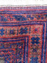 Tapis ancien Afghan Baluch fait main, 1P83
