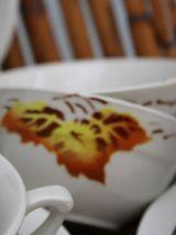 Lot de 10 tasses à café