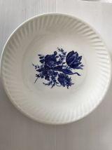 Assiette décorative en porcelaine de GIEN