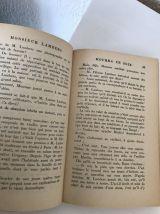 "Lot de 3 livres anciens "" Le Masque """
