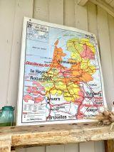 Ancienne carte d'école
