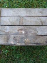 Ancienne caisse en bois  60x40x23 pour déco