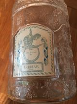 Lot 2 flacons Guerlain  grand format: 1 litre et 500ml