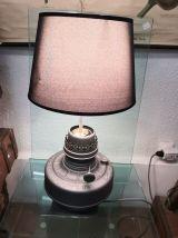 Ancienne lampe à pétrole transformée