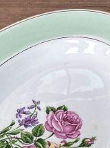 Plat de service en demi-porcelaine L'Amandinoise