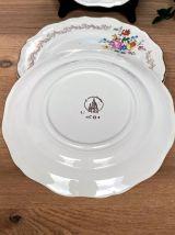 Set de 4 assiettes plates L'Amandinoise