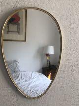 Miroir vintage 1960 rétroviseur - 48 x 33 cm