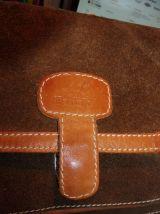 Sac Tann's original vintage cuir