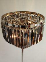 Superbe lampadaire de luxe CASA PADRINO à 100 pampilles en c