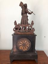 Pendule XIXème en marbre