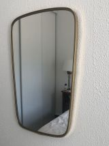 Miroir vintage 1960 rétroviseur - 57 x 36 cm