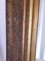 Miroir ancien bois doré  style Napoléon 3