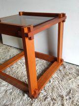 Table basse en bois massif dlg de Pierre Chapo