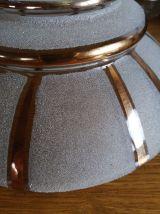 """Lampe Baladeuse vintage, suspension verre """"Oriane"""""""