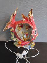 lampe poisson en céramique Vallauris