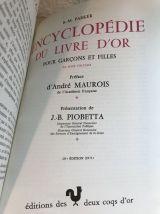 """Livre """" Encyclopédie du livre d'or pour garçons et filles"""""""
