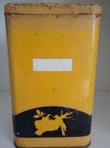 Boite tôle Nescao  de Nestlé années 50
