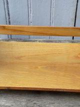 étagere de bateau en bois