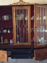 Vaisselier vernis vintage italien année60-70