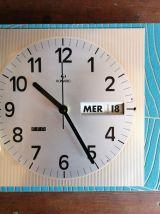 """Horloge vintage pendule murale silencieuse """"Romatic"""