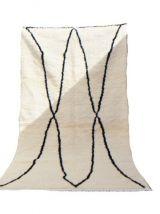 262x145cm Tapis Berbere Marocain Azilal