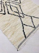153x97cm Tapis berbere marocain azilal
