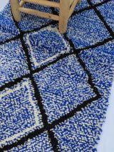 120x70cm Tapis Berbere Marocain Beni Ourain