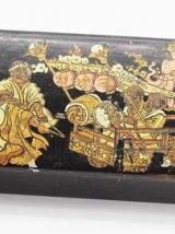 Ancienne boite chinoise en papier mâché