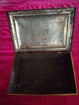 Boite métal vintage