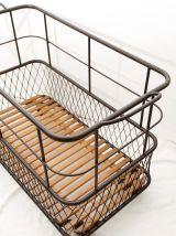 Chariot de boulanger panière en métal industriel