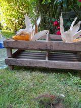 Clayettes anciennes en bois pour conserver les fruits ou lég