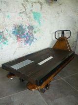 TABLE BASSE - TRANSPALETTE -