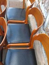 5 chaise traineau Baumann