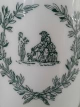 Grand pot vintage en opaline